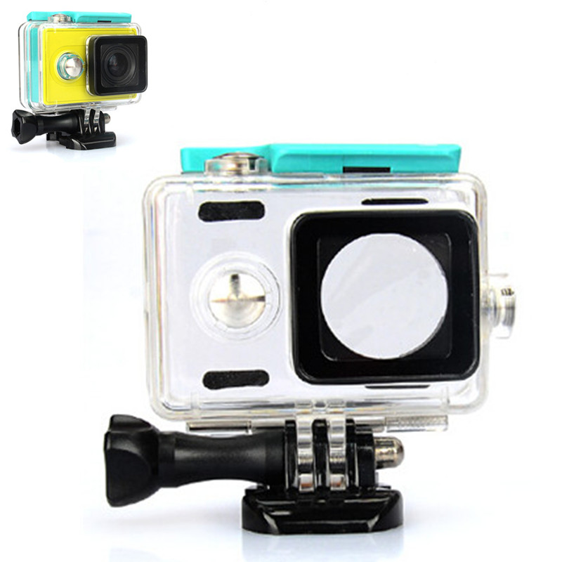 Waterproof Xiaoyi Sports Action Camera Case for Xiaomi Yi Waterproof Case MI YI 40M Diving Box for Xiaomi Yi Accessories