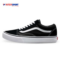Original Vans Old Skool Low Top CLASSICS Unisex MEN S WOMEN S Skateboarding Shoes Sports Canvas