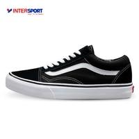 Original Vans Old Skool Low Top CLASSICS Unisex MEN S WOMEN S Skateboarding Shoes Sports Canvas