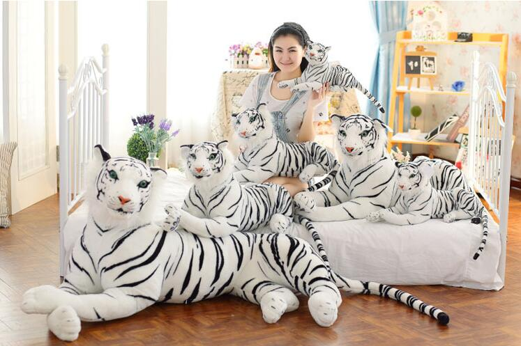 tiger doll Animal Doll Plush Toys Tiger Store Furnishings Decoration 2017 New Hot Sale Free Shipping YH-12(China (Mainland))