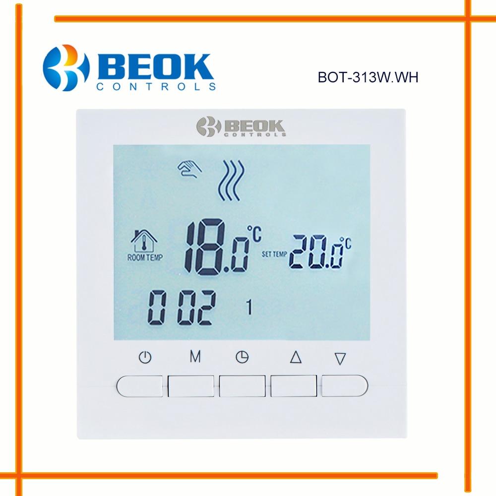 BEOK Programmable Gas Boiler Heating Temperature Regulator APP ...