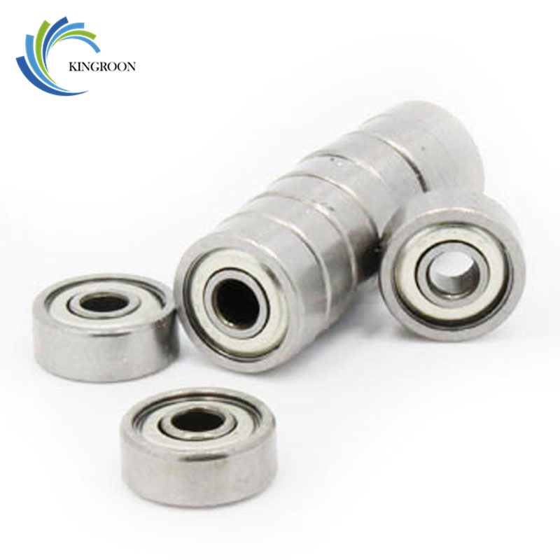 KINGROON 10pcs <font><b>625ZZ</b></font> Ball Bearing Miniature Deep Groove Ball Bearing 5*16*5 mm 3D Printer Ball Bearings 3D Printer Parts image