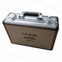 Mais novo Avançada Zangão RC Radio Controle Remoto Caixa De Alumínio Para futaba 14SG 10C 8FG 10J 8J T6K