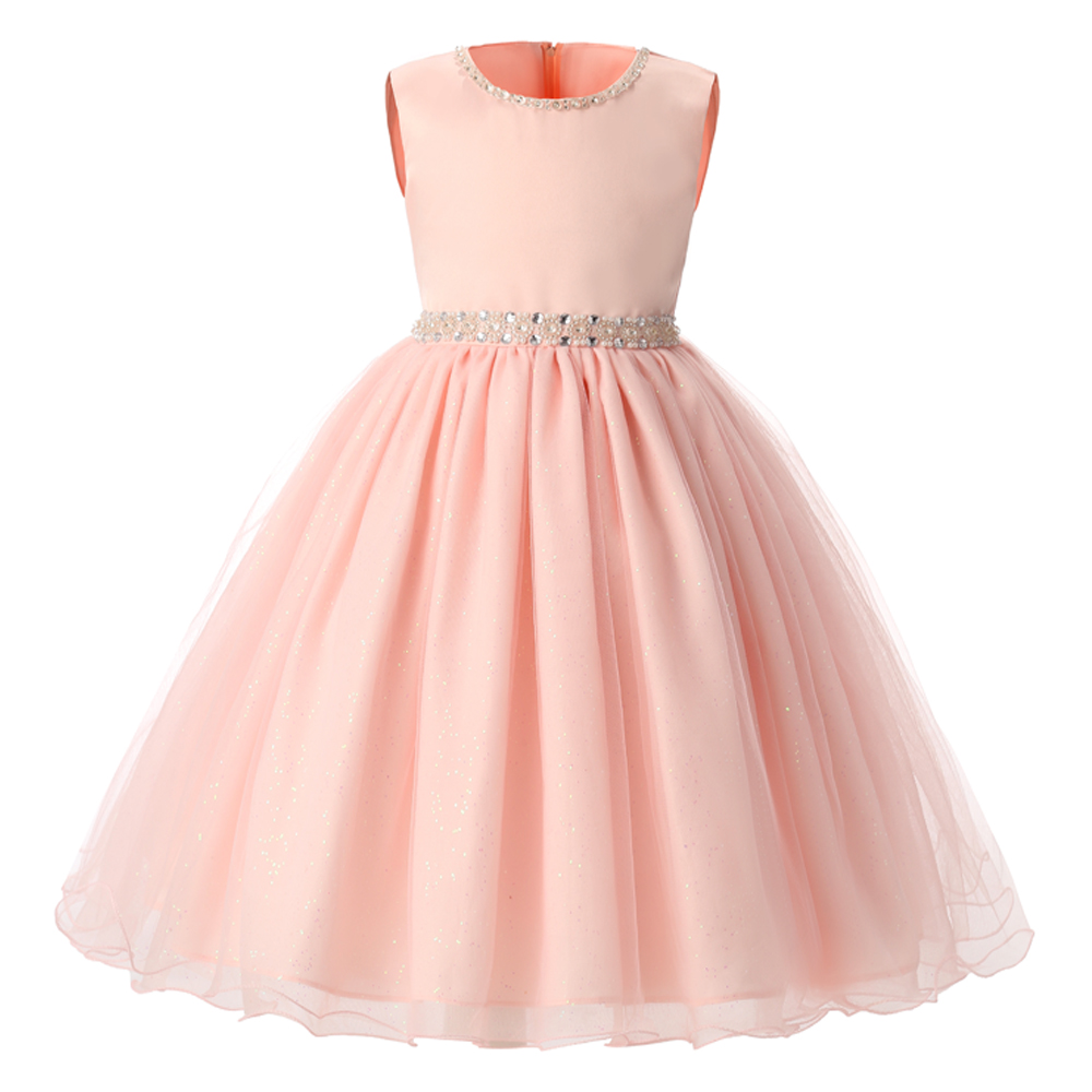 Summer 2018 New Baby Girl Fashion Dress For Wedding Baptism 1 Year Birthday Party Wear Princess Girls Clothes Child Kids Dresses