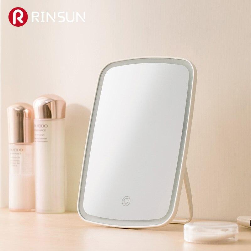 Image 4 - Светодиодный сенсорный экран, внутренняя батарея, зеркало для макияжа, настольный макияж, портативное светодиодное зеркало для макияжа, косметическое зеркало для рук-in Зеркала для макияжа from Красота и здоровье on AliExpress - 11.11_Double 11_Singles' Day