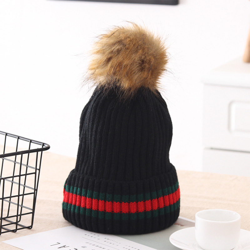 XINCAI High sales ! New product Fashion/Casual autumn/winter knitting wool Venonat black women knitted caps/beanies knit hats high tech and fashion electric product shell plastic mold