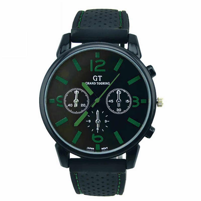 Mannen Rvs Sport fashion Cool Quartz Uur Analoog Horloge Militaire Sport Mannen часы мужские relogio masculino relojes