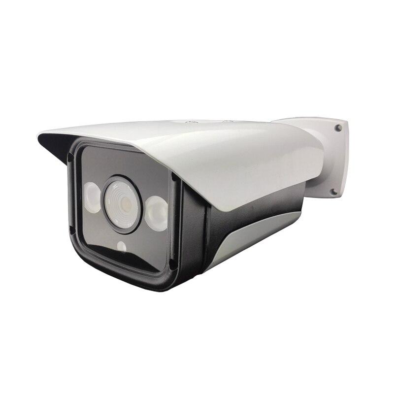 ФОТО Audio HD 720P 1.0MP  IP Camera White Matal Bullet Weatherproof Outdoor Security Camera 2IR Night Vision Two Way Voice