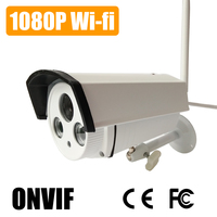 Waterproof 1080P Wireless IP Camera Fuction 2MP Night Vision And ONVIF Support IR Reset Remote View