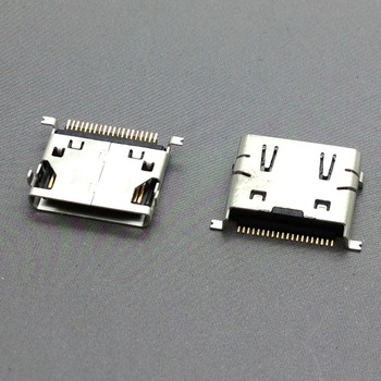 1x micro 20P phone charging tail port,Micro USB jack connector socket,For Samsung E258 D520 E250 D508 D808 E500 image