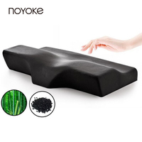 Noyoke Christmas Gift Cervical Orthopedic Neck Memory Foam Pillow Bamboo Charcoal Magnetic Therapy Memory Foam Pillow