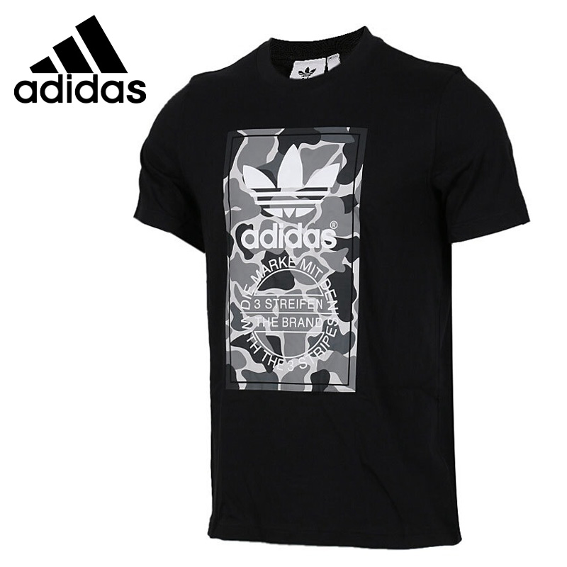 Original New Arrival 2018 Adidas Originals CAMO LABEL TEE Men's T-shirts short sleeve Sportswear original new arrival 2017 adidas neo label graphic men s t shirts short sleeve sportswear