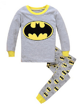 Children Pajamas Sets Cartoon Printed font b Kid b font Boys Sleepwear Set Cotton Long Sleeve