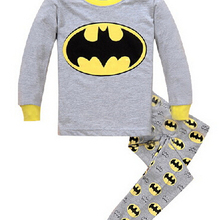 Children Pajamas Sets Cartoon Printed Kid Boys Sleepwear Set Cotton Long Sleeve Baby girls Pyjamas Clothing Set for children