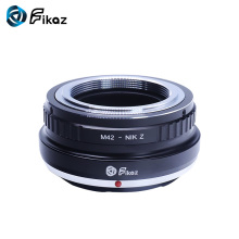 лучшая цена Fikaz M42-Nik Z Lens Mount Adapter Ring for M42 42mm Lens to Nikon Z Mount Z6 Z7 Camera Lens Adapter