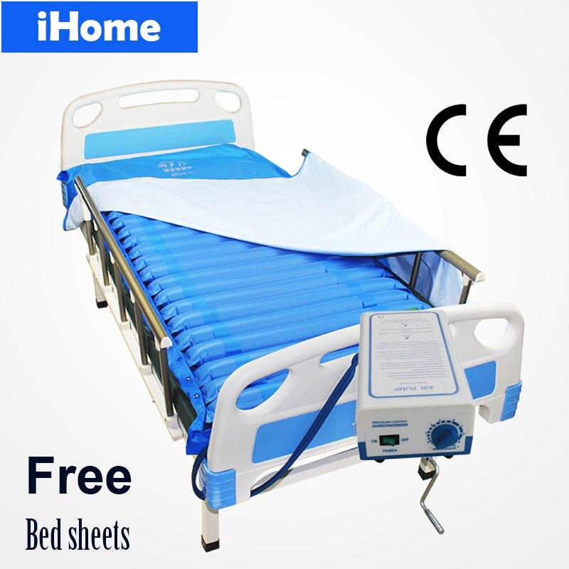 Ev ve Bahçe'ten Minder'de Tıbbi Pnömatik Alternatif Basınçlı hava yatağı Yastık tıbbi yatak Pompası Önlemek Bedsores Decubitus Yatak Levhalar Yaşlı'da  Grup 1