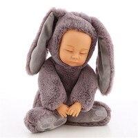 Brinquedos Plush Stuffed Toys for Children Kawaii Soft Rabbit Bear Best Birthday Gifts for Friends Doll Reborn Pusheen Baby