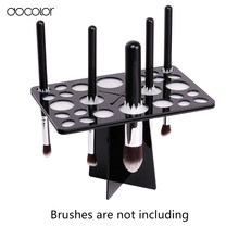 New make-up brush organizer Stand Tree Dry Brush holder Brushes Accessories Comestic Brushes Aside Hang Tools Free Shipping(China)