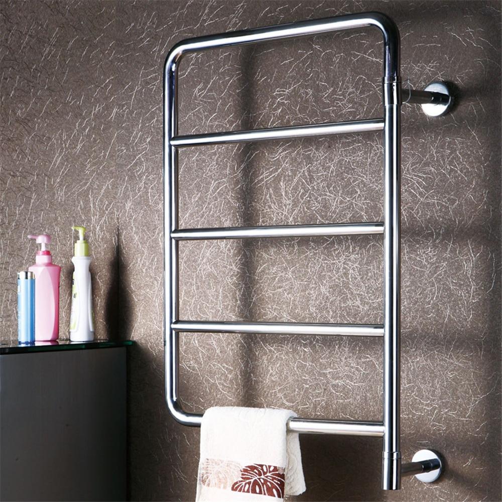 1pcs Heated Towel Rail Holder Bathroom Accessoriestowel: Free Shipping Swing Style Stainless Steel Bathroom