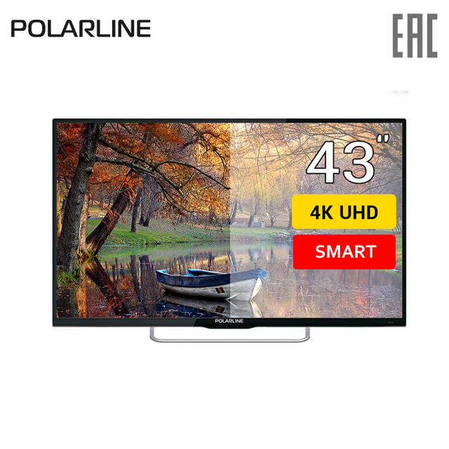 "Телевизор 43"" Polarline 43PU11TC-SM 4k SmartTV"