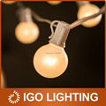 G40 Outdoor Patio String Lights Set 7.5Meter With 25 G40 Frosted White Bulbs Xmas Wedding/Party String Light Decoracion boda