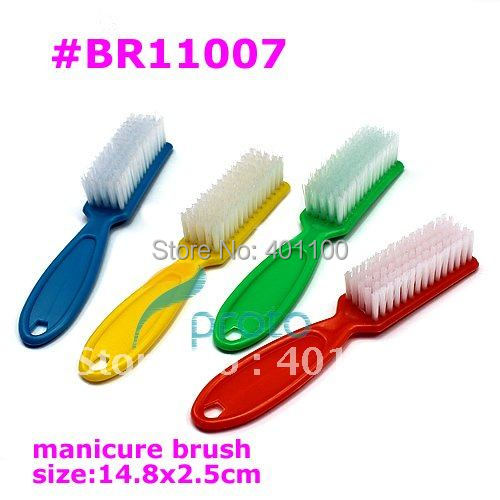 4pcs/lot Manicure Brushes for Nail Art Manicure Tools Color Brush Nail Cleaning Tool wholesales SKU:F0109X