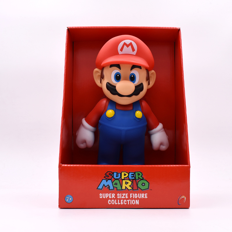 23 Cm Anime Figura Super Mario Bros Mario PVC Action Figure Doll Collectible Model Baby Toy Christmas Gift For Children