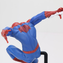 Ironman Super Heroes avenger figures superhero spiderman Creator X Creator spider man Iron Man Statue PVC Figure Collection Toys