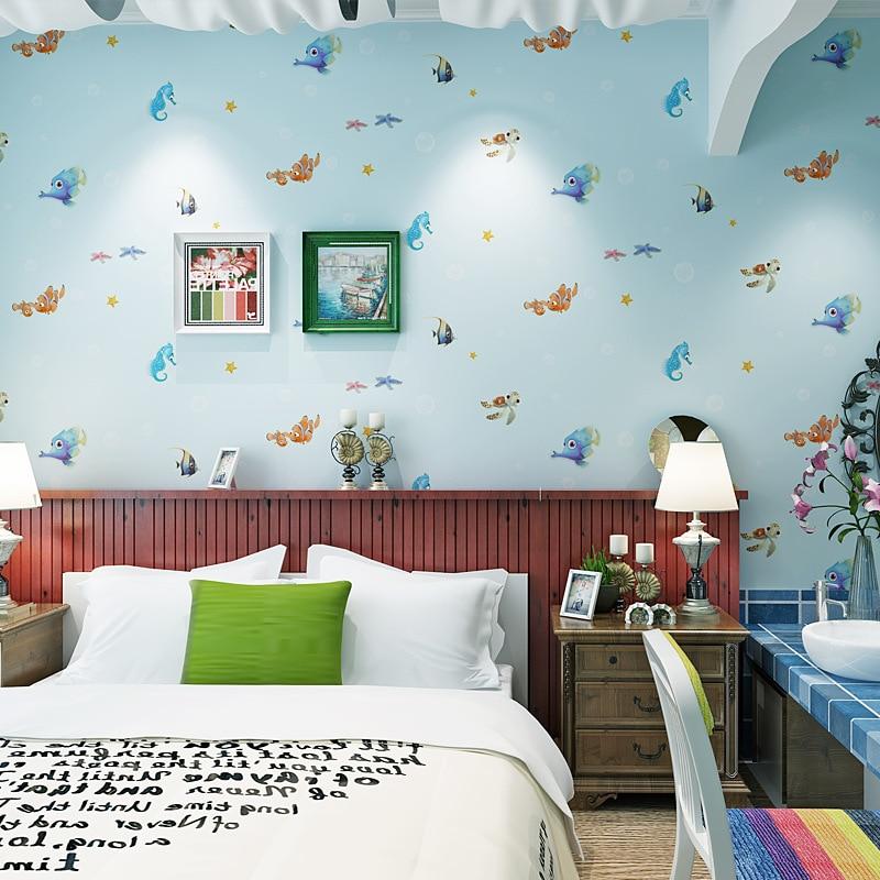3D Wallpaper Sea World Unterwasser Tapete Vlies Kinder ...