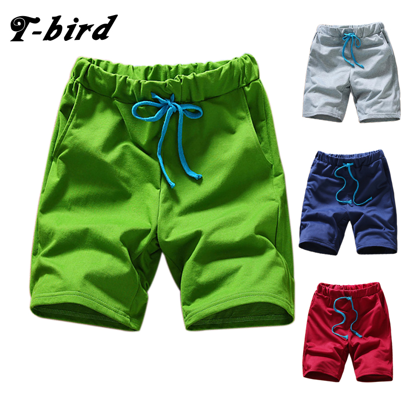 T-bird 2018 Brand Summer Cotton Shorts Men Fashion  Boardshorts Breathable Male Casual Bermuda Shorts Comfortable Mens Shorts