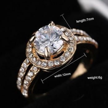 טבעת לכלה ויהלומי קריסטל