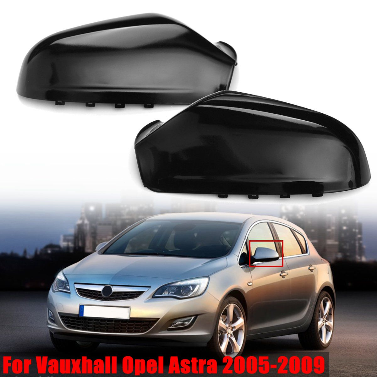 For Vauxhall Astra 2008-2009 Right Passenger Side Wing Door Mirror Cover Casing