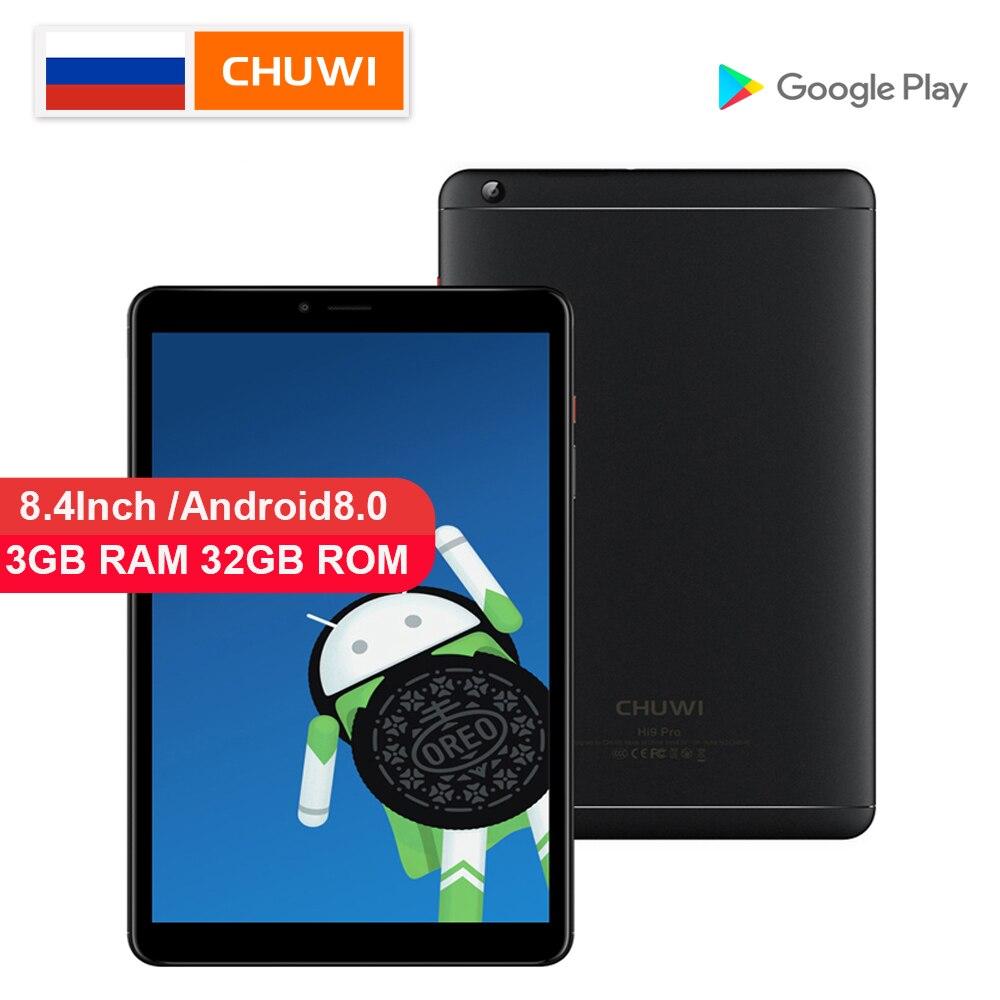 CHUWI Original Hi9 Pro Tablet PC Deca Core MT6797 X20  3GB RAM 32GB ROM Android 8.0/8.1 2K Screen Dual 4G Tablet 8.4 InchCHUWI Original Hi9 Pro Tablet PC Deca Core MT6797 X20  3GB RAM 32GB ROM Android 8.0/8.1 2K Screen Dual 4G Tablet 8.4 Inch