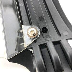 """Image 5 - 7/8 """"22 milímetros Protetores de Guardas de Mão Motocicleta Bar End de Carbono Olhar Caindo com LED Luz Universal para Honda Kawasaki KTM Polaris"""