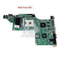 NOKOTION 630280 001 For HP DV6 DV6 3100 Laptop Motherboard DALX6MB6H1 HM55 DDR3 HD5470 512MB Free CPU