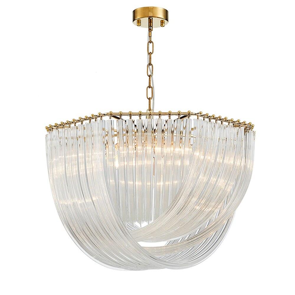 Alta qualidade moderna candelabro de cristal da lâmpada AC110V 220 V ouro lustre lustre sala acende 80 centímetros wideth