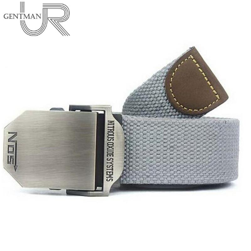 Hot NOS Outdoor Men Canvas Belt Western Military Tactical Belt Luxury Belts For Men & Women High Quality Casual Jeans Waist Belt men belt brand luxury mens belts luxurymen's belt luxury brand - AliExpress