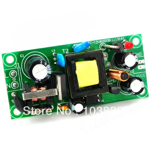 US $6 5 |Built in Switching Power Supply Board w/ EMI Filter Circuit Green  (5V / 2A )-in Integrated Circuits from Electronic Components & Supplies on