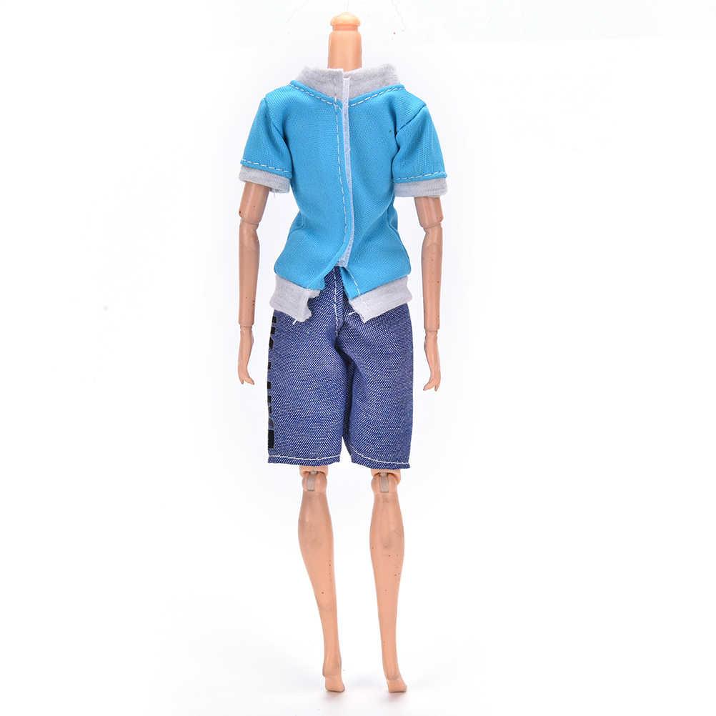 Модный костюм, 1 комплект, кукла принц Кен, одежда, классный наряд для куклы, для мальчика, кукла Кен, лучший подарок на день рождения для детей
