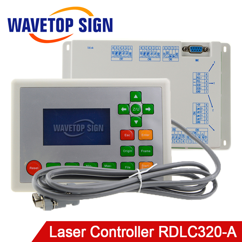 Ruida RD RDLC320-A Co2 Laser DSP Controllerr RD320A Co2 Laser Controller use for Laser Engraving and Cutting Machine цена
