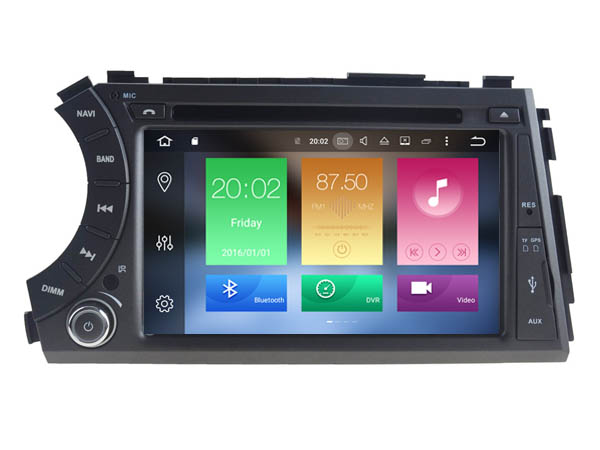 Android 6 0 font b CAR b font Audio DVD player FOR SSANGYONG Action Actyon sports
