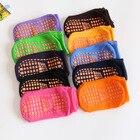 20 пар / упак! Мужские  женские и детские батутные носки из ПВХ с резиновой подошвой  противоскользя ✔