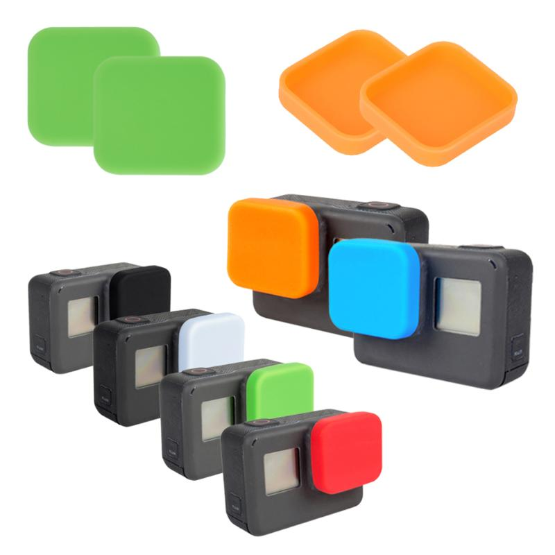 Soft Silicone Action Camera Lens Case For GoPro Hero 5 Black Camera Lens Protective Lid Waterproof Cover Case For GoPro Hero 5