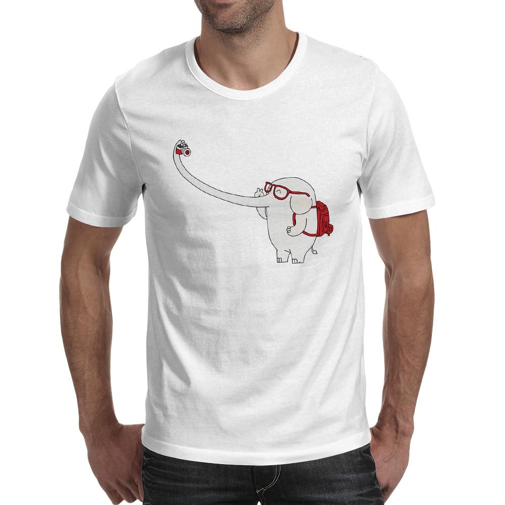 Tricou mare Selfie Tricou Punk Print Creative T Shirt Brand Hip Hop - Imbracaminte barbati