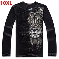 Autumn Winter Plus Large Large Size Of The Men S 10XL 9XL 7XL Child 8XL Round