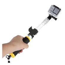Плавающие Расширение полюс для GoPro 1 2 3 3 + 4 SJCAM камеры (прозрачный)