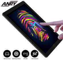 ANRY A1006 10 Inch Tablet Pc Tab Android 7.0 Quad Core 4GB RAM 32GB ROM Dual Sim WiFi FM IPS Phone GPS Kids Tablets 3G 5000mAh 10 inch tablet pc octa core 4gb ram 32gb rom 5 0mp android 7 0 gps 1920 1080 ips dual sim cards 3g call wcdma gps tablets