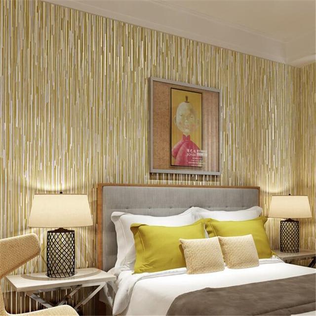 Famosos Lavagem beibehang Wallpaper Textura do Metal Luz Pure Simples  EU56