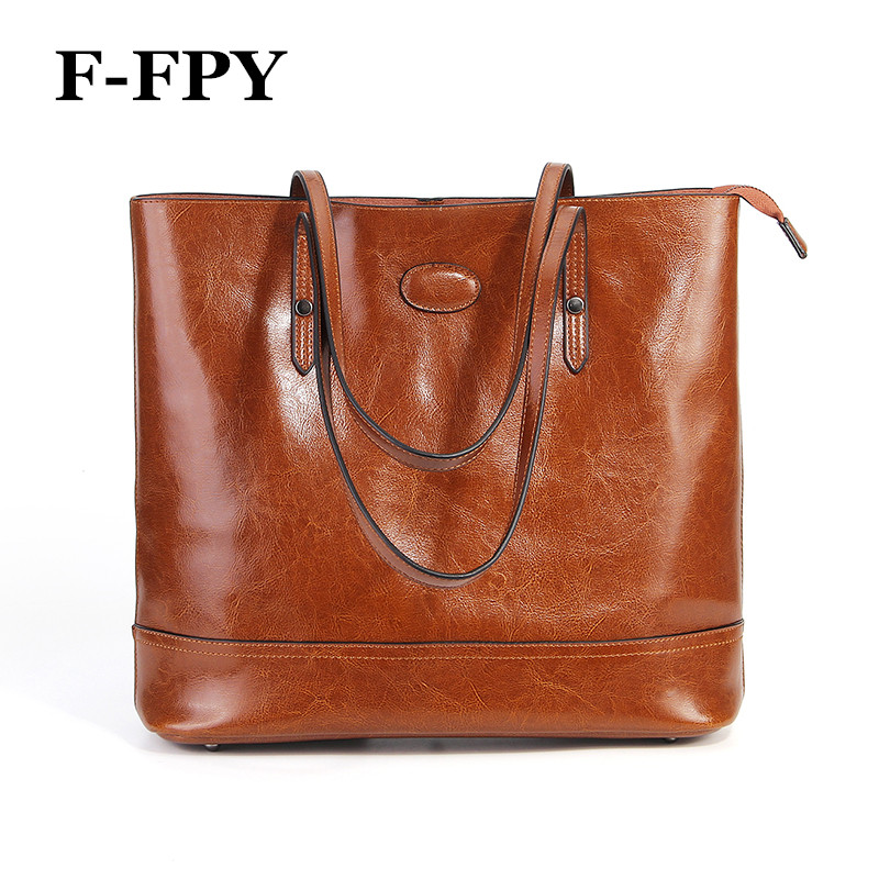 American Style Women Handbag Casual Tote Bag Genuine Cow Leather Female Shoulder Bag Large Capacity Portable Shopping Bag Bolsos 100% genuine leather make cow leather handbag shoulder bag shell bag middle aged women suitable for life shopping the best gift
