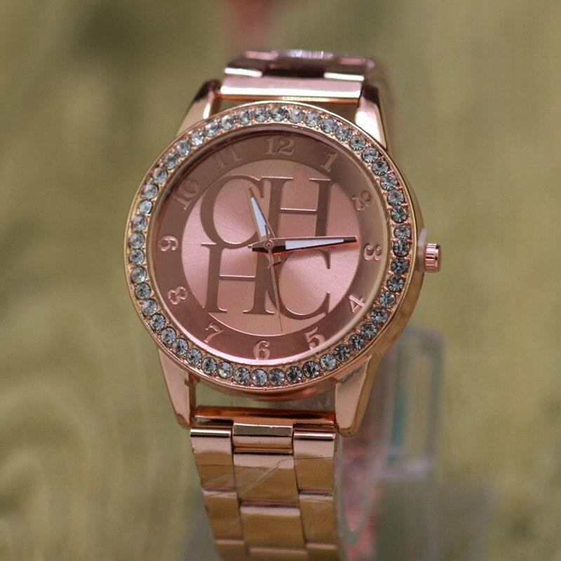 Women's Watches Kobiet Zegarka Brands Luxury Rhinestone All-steel Dresses Quartz Watches Fashion Casual Quartz Watches Relogio